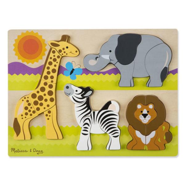 Jigsaw Chunky Puzzle Safari