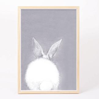 Bunny Art Print - A4