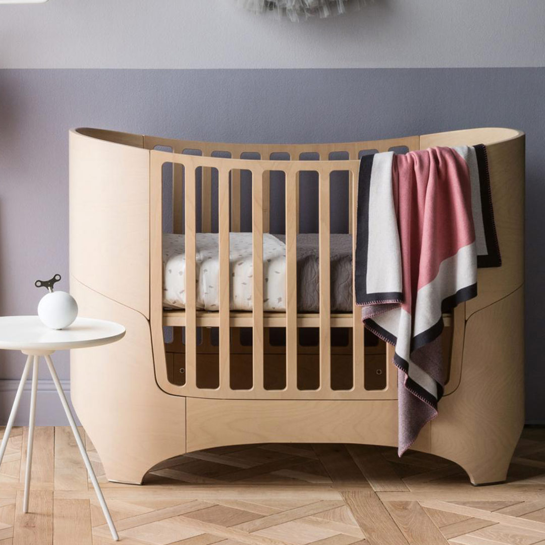 Leander Cot Bed Incl Mattress 0 7 Yrs Clever Little Monkey