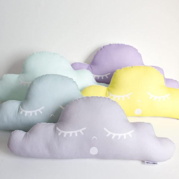 Pastel Sleep Cloud Scatter