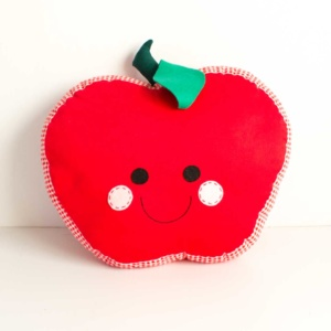 Red apple scatter