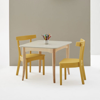 Woodbender Ashton Children's Table - Natural Frame