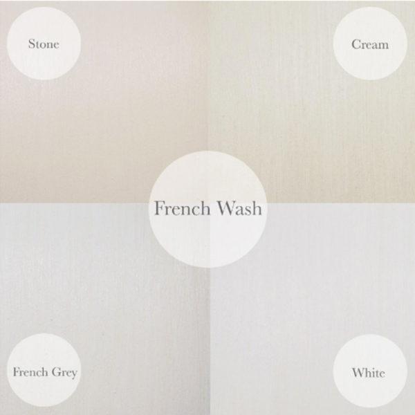 French Wash Finish