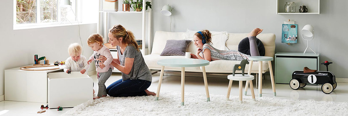 kids furniture, bedding and decor