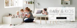 Baby & kids furniture, bedding and decor