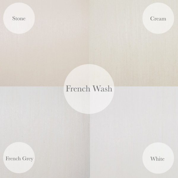 French Wash Finish