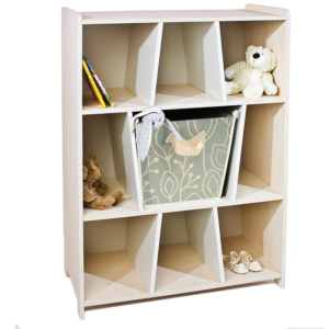 Kukuu Bird & Berry Bookshelf - Milk