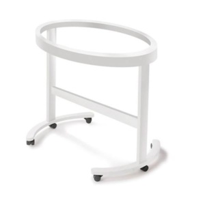 Smart Oval Cradle Structure - White