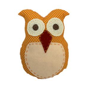 Orange Mini Owl Scatter