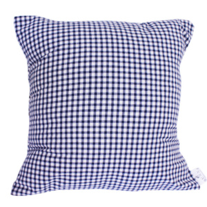 Navy Gingham Scatter