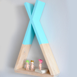 Teepee Wall Shelf