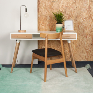 Aspen Woodgrain Desk