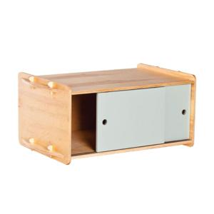 Stackable Birch Sliding Door Cabinet