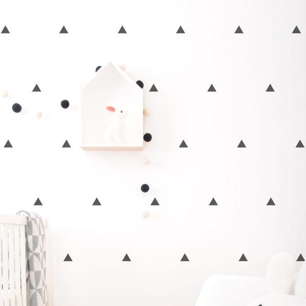 black-triangles-wall-vinyls
