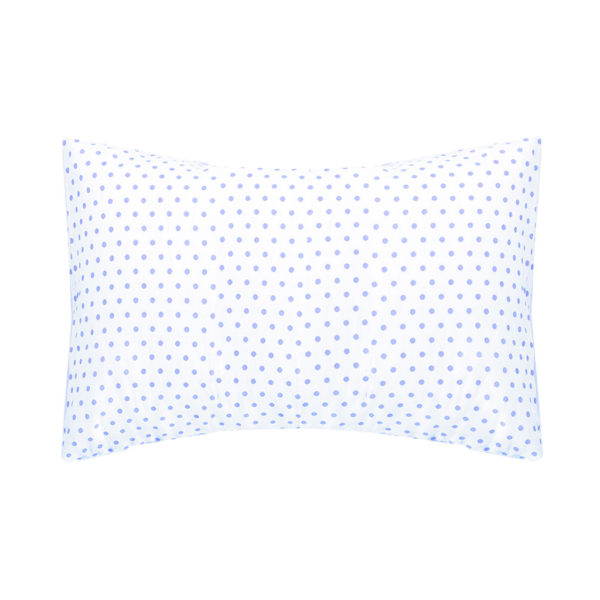 Blue Dot Toddler Pillow