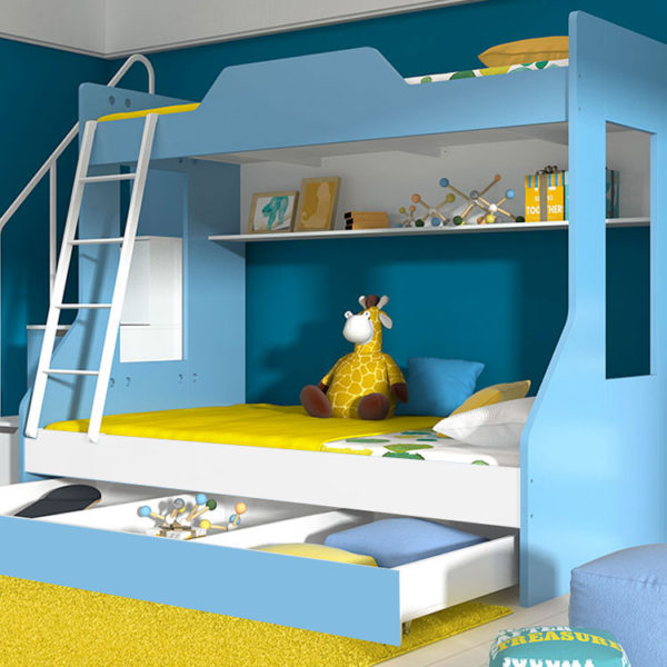 Kendall Bunk Bed - Blue