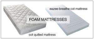 foam cot mattress