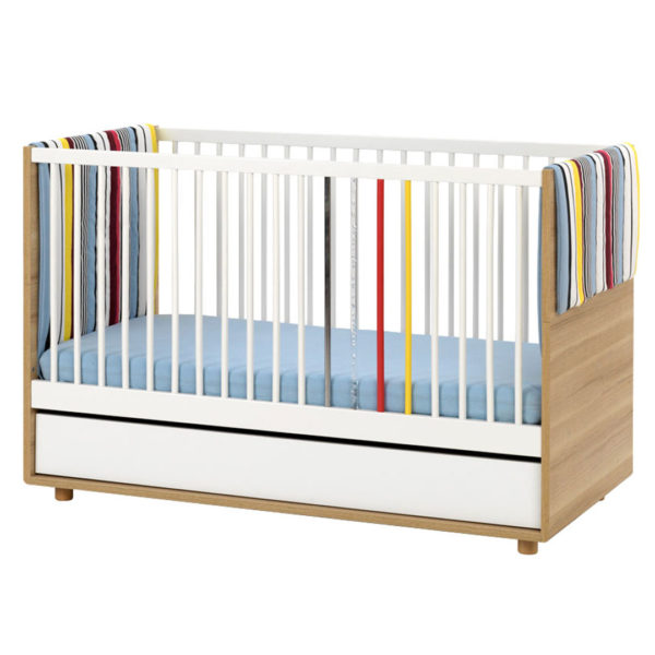 Evolve Cot Bed - Multi-Coloured