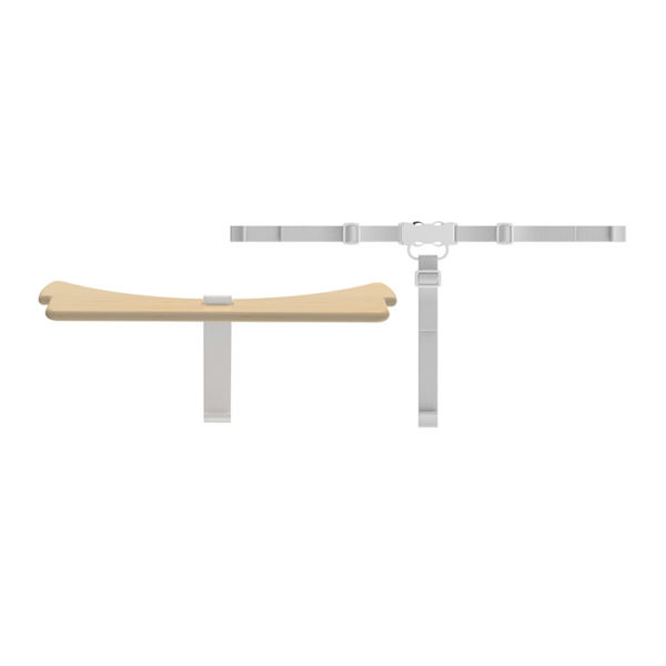 Flexa High Chair Safety bar natura