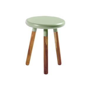 Eden stool green