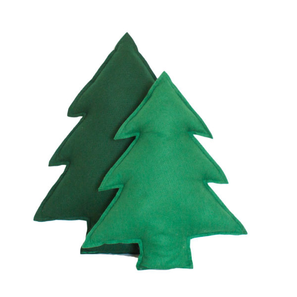 Green Pine Tree Scatters