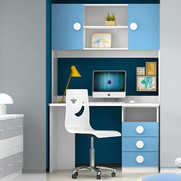 Kendall Study Desk - Blue