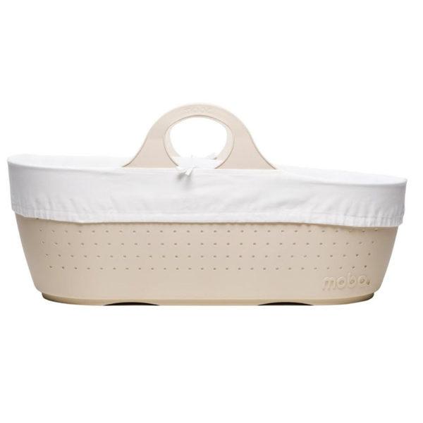 Linen Moba Basket, Mattress, Lining