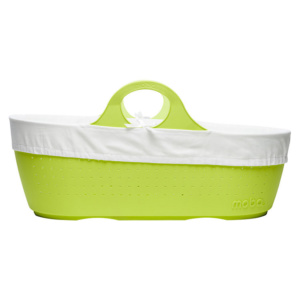 Apple green moba moses basket