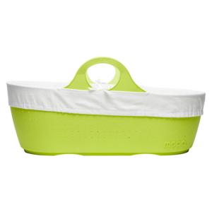 Apple green moba moses basket