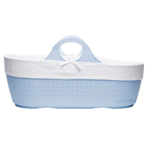Cornflower Blue Moba baby basket