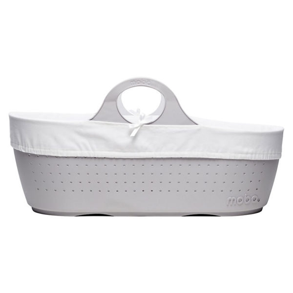 Dove Grey Moba Basket, Mattress, Lining