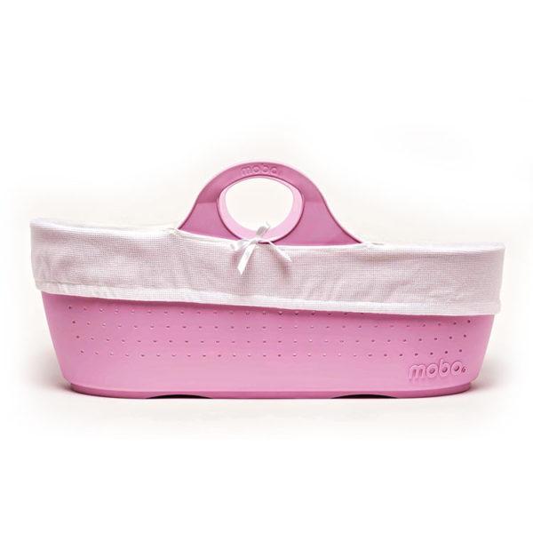 Rose Pink Moba Basket, Mattress, Lining