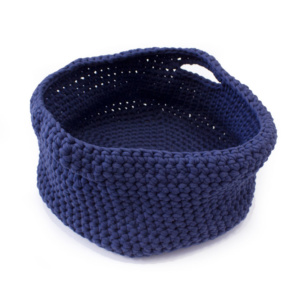 Navy Cotton Basket