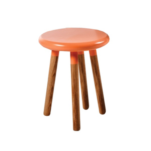 Orange Eden MIlk Stool