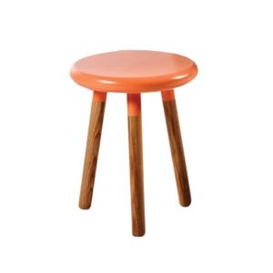Eden stool orange