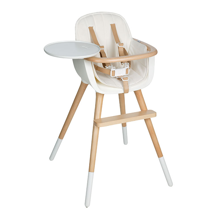 Ovo one highchair white by micuna clever little monkey for Chaise haute vertbaudet