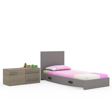 pink-Birdy-cot-into-bed
