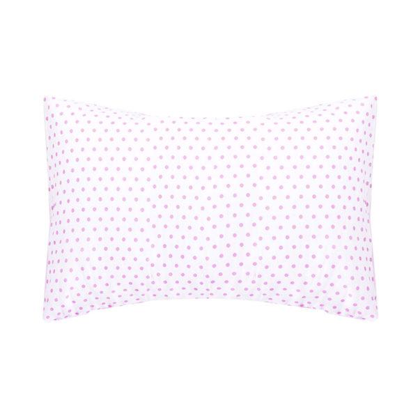 Pink Dot Toddler Pillow