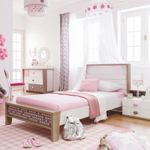 Pink Point Bed