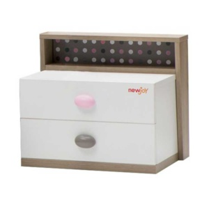 Pink Point Nightstand