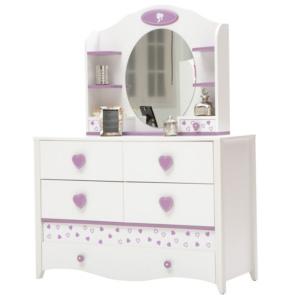 Princess Dresser & Mirror
