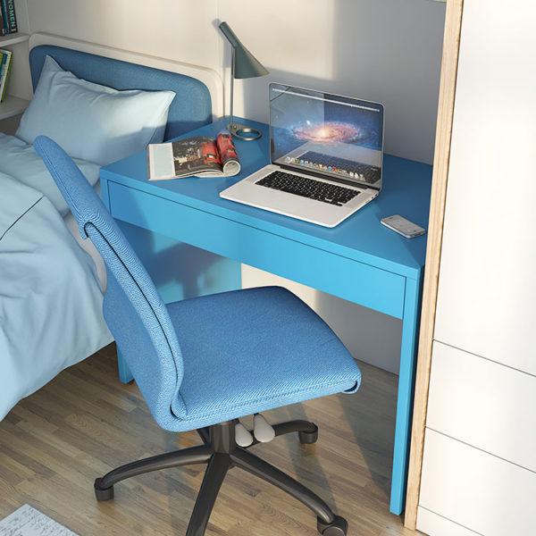 Smart Desk Turquoise