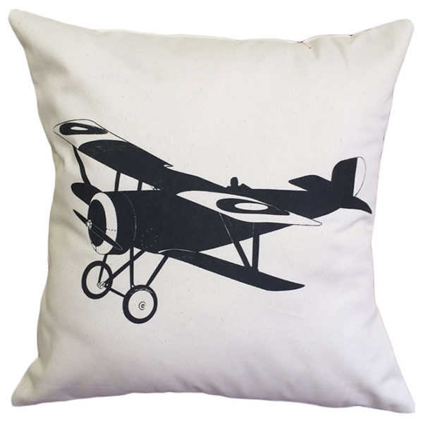 Vintage Airplane Scatter - Ivory