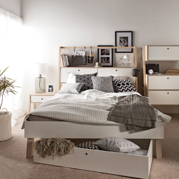 Vox Spot Double Bed with Storage