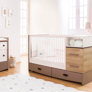 White Birdy Cot