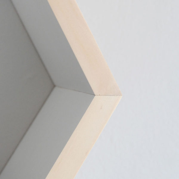 Hexagon Wall Shelf - Detail