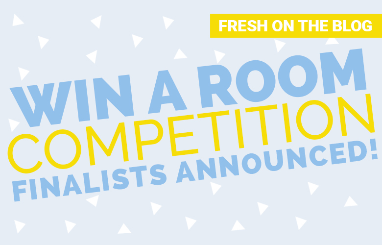 We are very happy to announce the 14 finalist of our WIN A ROOM competition we have been running for most of the year as part of our 10 year Birthday Bash! The winner will be announced on the 1st of December.