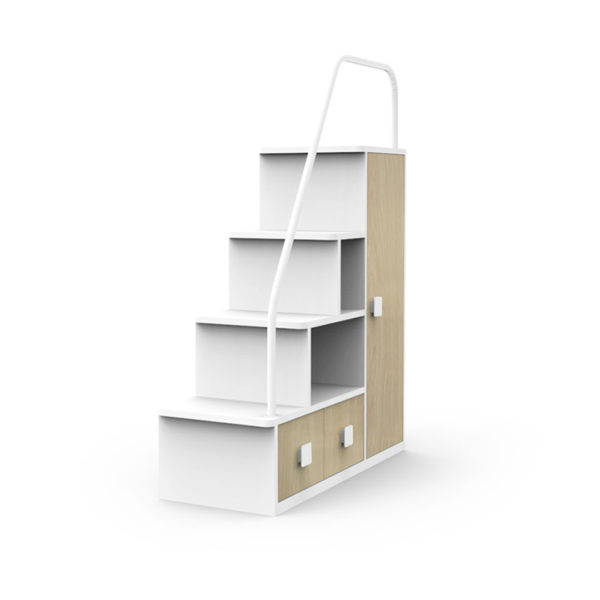 Woodgrain Staircase for Dillon Bunk
