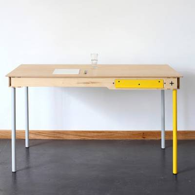 Writers Desk - Yellow