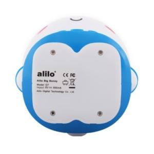 Alilo Big Bunny Blue Bottom